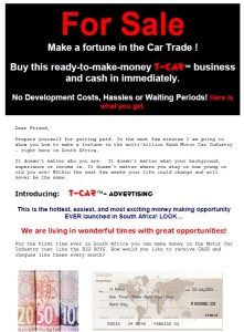 first page t-car